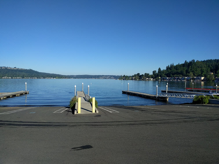 Lake Sammamish Boat Launch
