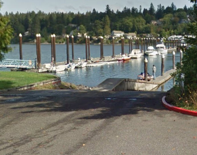 Swantown boat launch